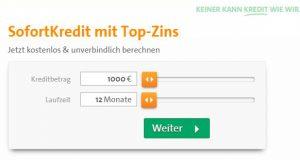Kreditrechner der CreditPlus Bank.