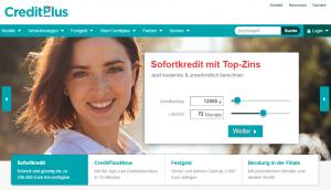 Der Kreditrechner der Creditplus Bank